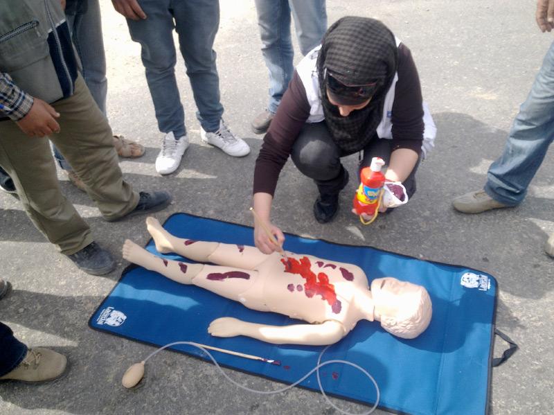 MdM resumes its emergency preparedness activities in Gaza