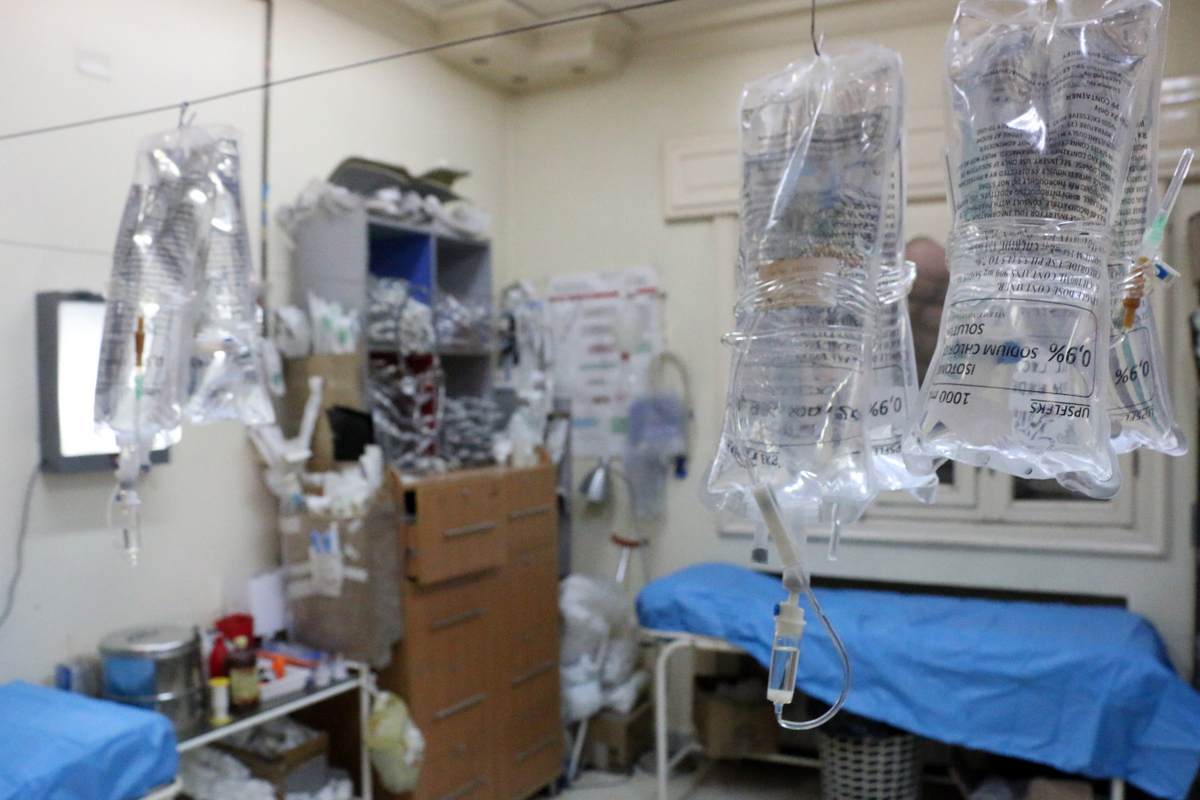 Inside an Aleppo hospital - March 2014 - © Zein Al Rifaii