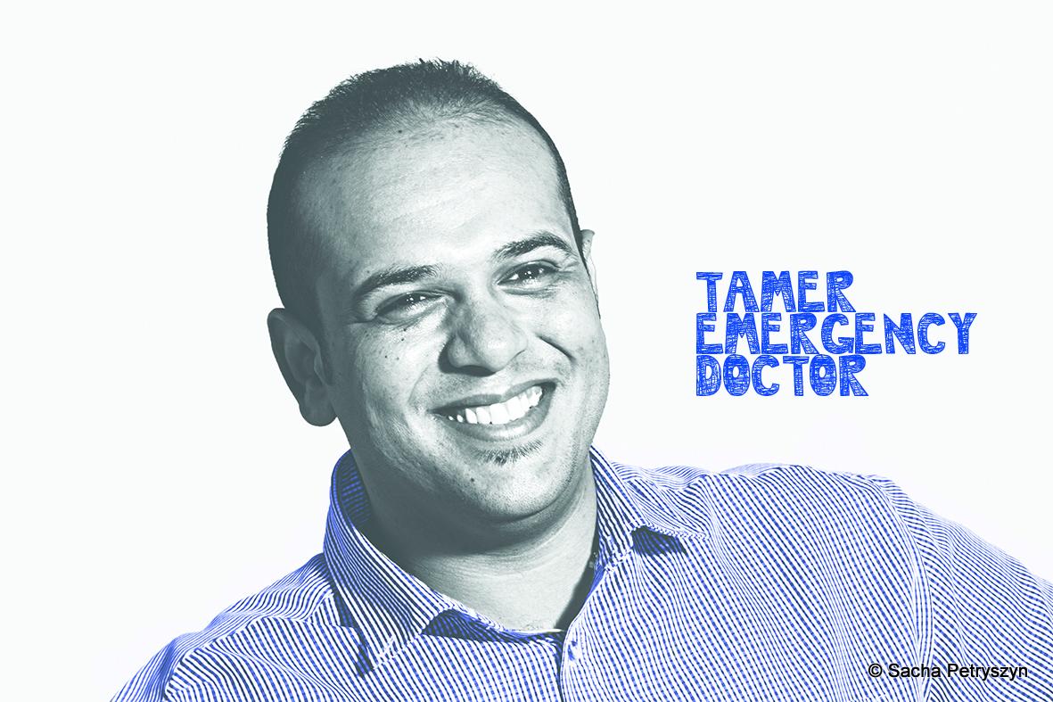 Tamer S. ABUJAME – Emergency Doctor – MdM in Palestine/Gaza
