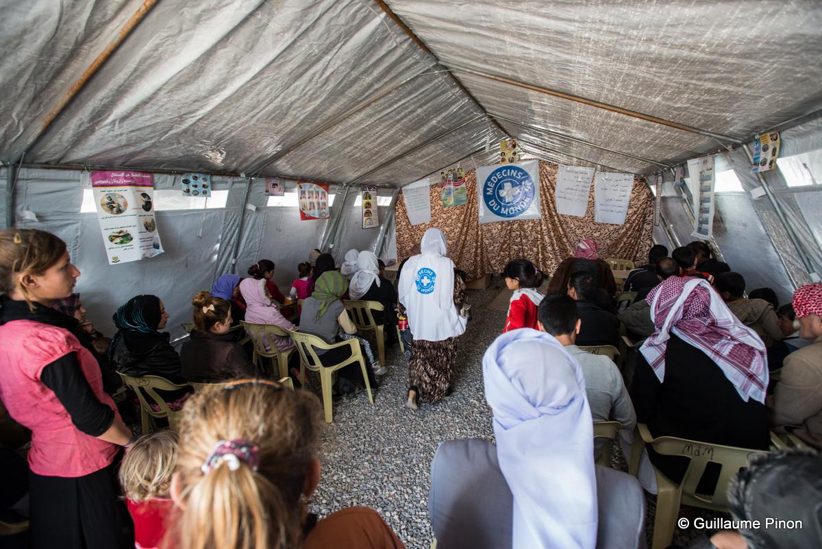 Camp Chamisku, Day 1, Zakho, Docteur Ghazwa Breassam, consultation, apres-midi