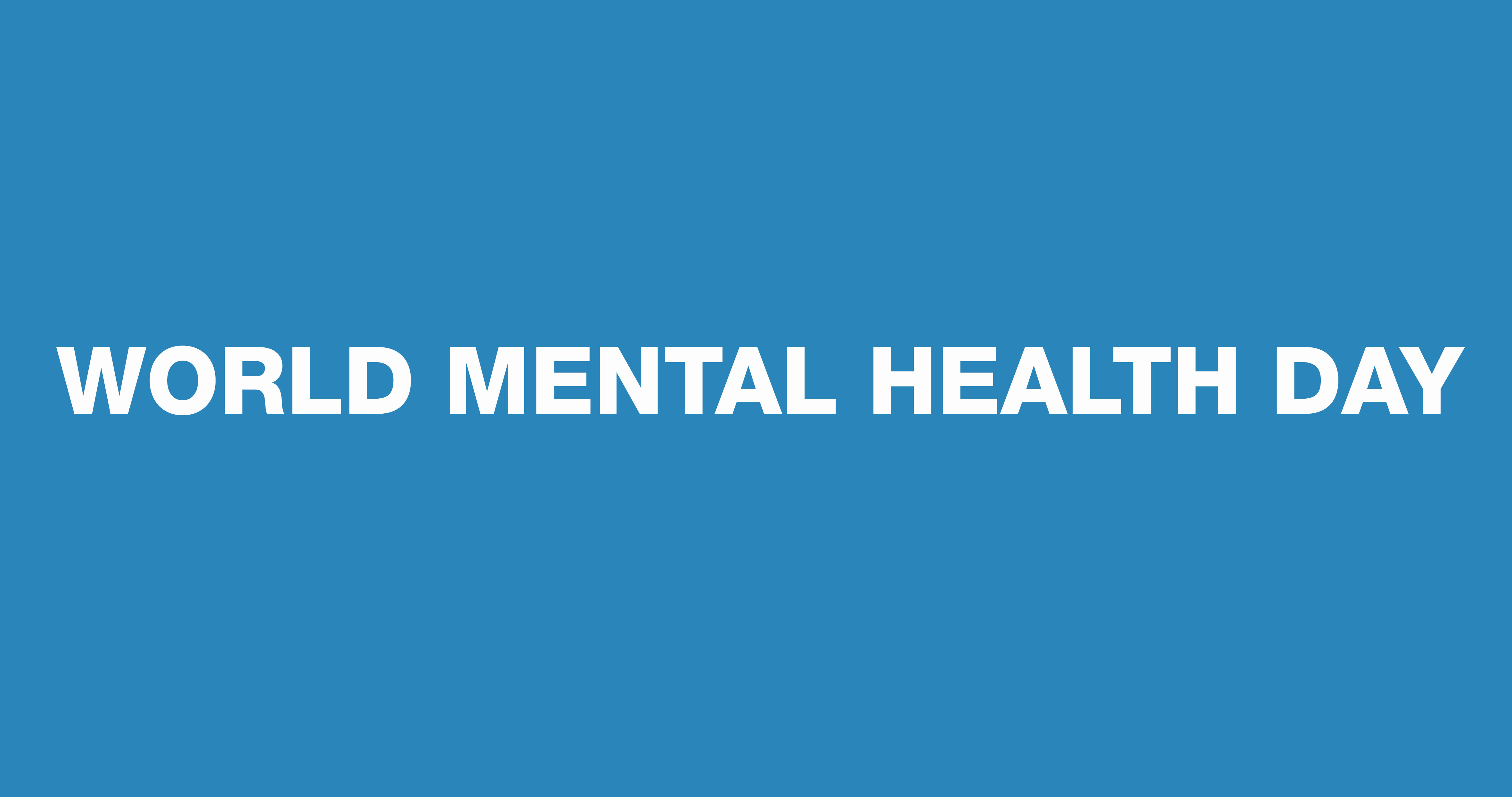 World Mental Health day: Mental health must be a priority in the context of the Syrian Crisis.
