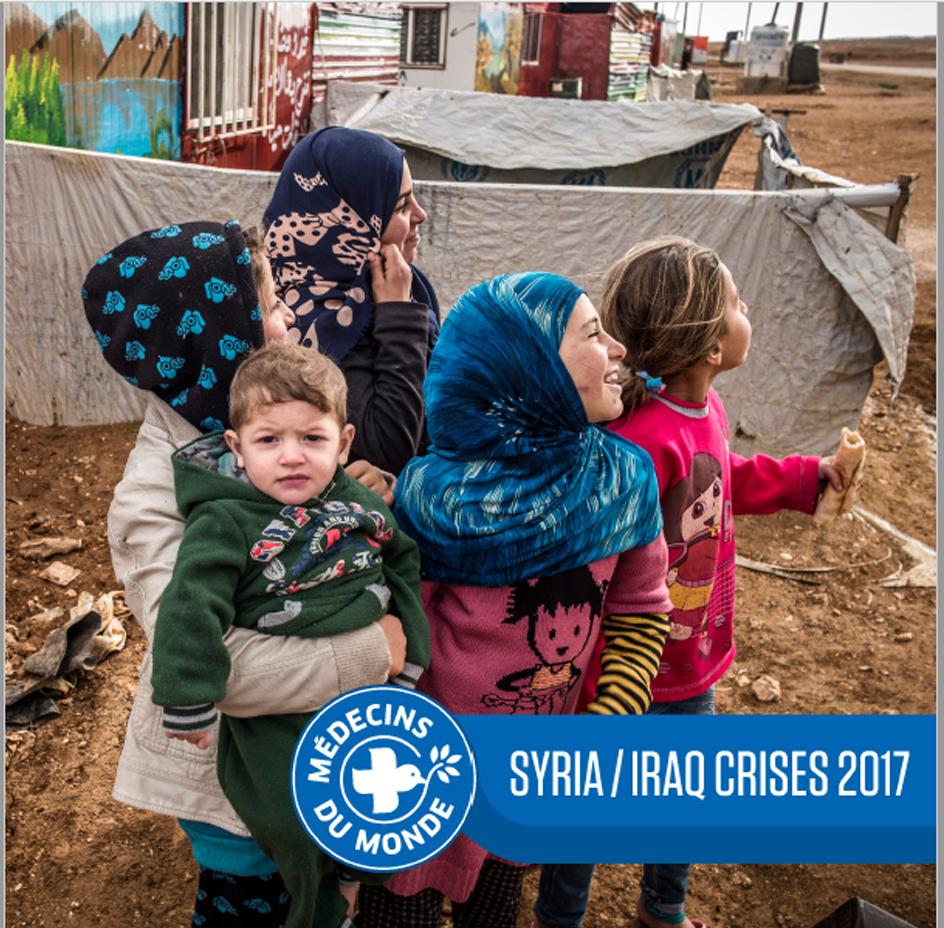 """Regional Booklet : """"Syria/Iraq Crises 2017"""""""