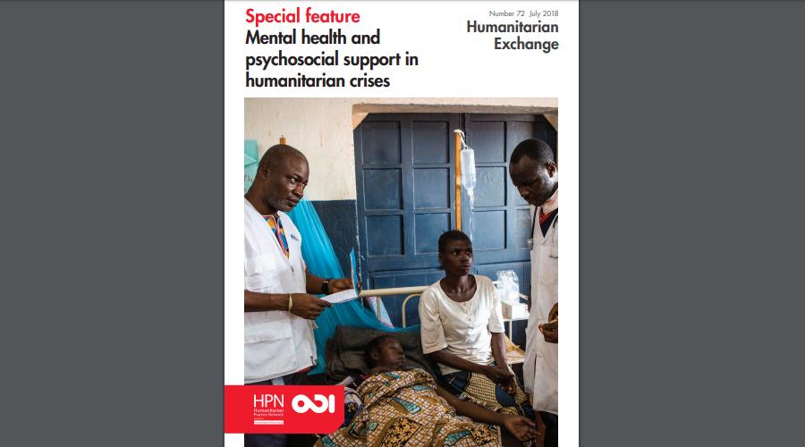 Humanitarian Exchange Magazine | MdM contribution on mental health