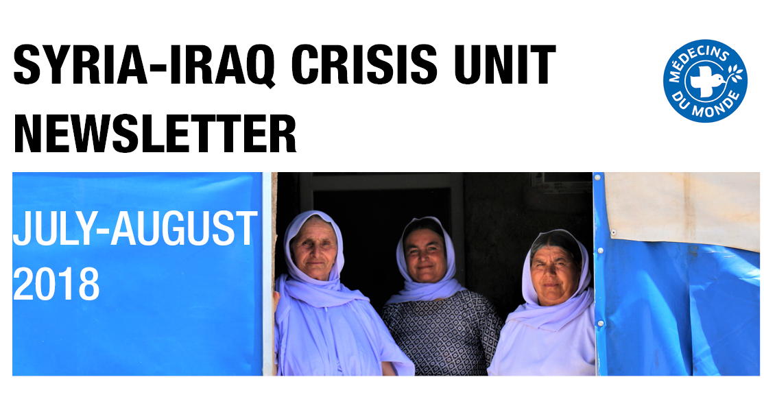 Syria-Iraq Crisis Unit Newsletter July-August