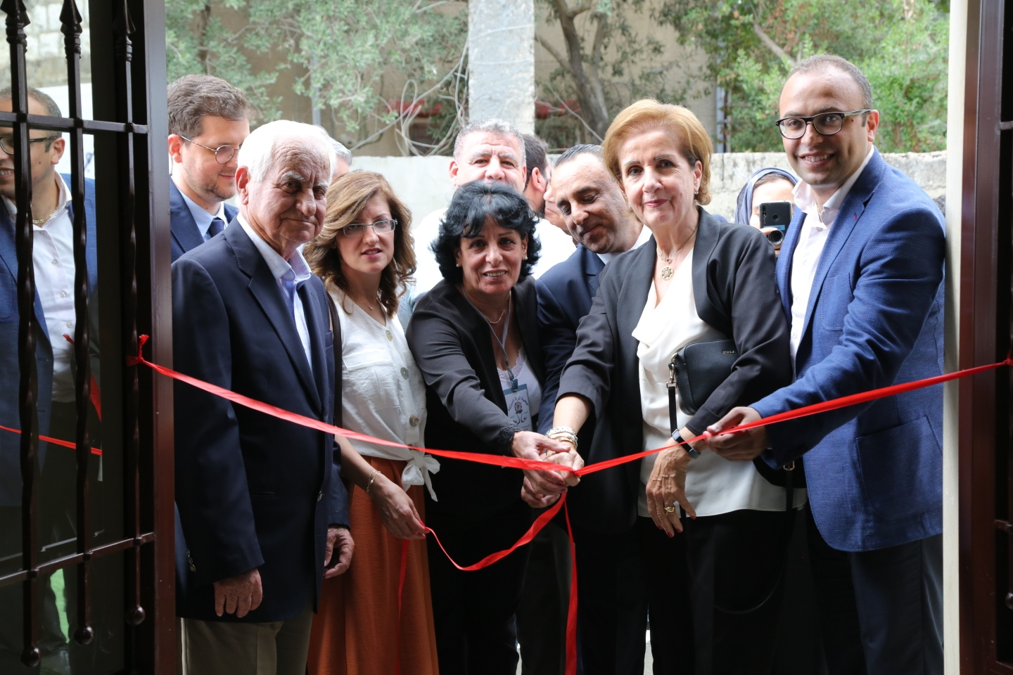 "Inauguration ceremony of Aley Healthcare Center for the ""Druze Women Association"" in Lebanon"